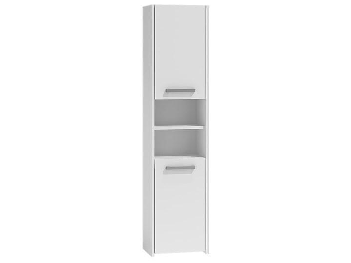 Szafka regał do łazienki Tosca 3X - biała Słupek Szerokość 40 cm Stojące Kolor Biały Wysokość 170 cm Kategoria Szafki stojące