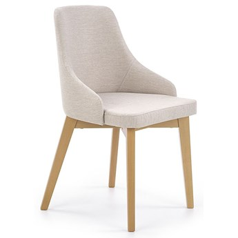 Krzesło tapicerowane Altex - jasny beż