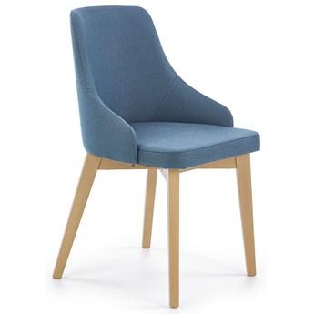 Krzesło drewniane Altex - turkusowe