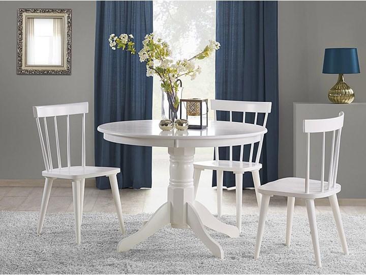 Stół okrągły Atles - biały