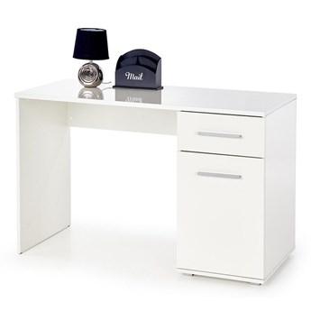Modne biurko Lines - białe