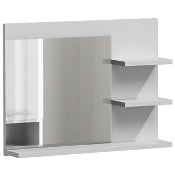 Lustro do łazienki Caro 2X - białe