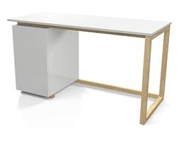 skandynawskie biurko fibi 2x - białe