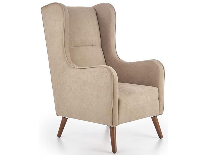 Fotel uszak wypoczynkowy Narin - beżowy Wysokość 114 cm Fotel tradycyjny Pomieszczenie Salon