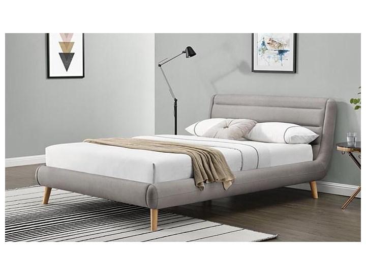 Łóżko Dalmar 140x200 - jasny popiel Łóżko tapicerowane Kategoria Łóżka do sypialni