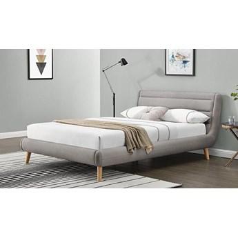 Łóżko Dalmar 160x200 - jasny popiel