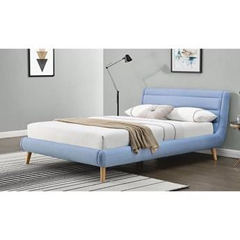 Łóżko Dalmar 160x200 - błękitne