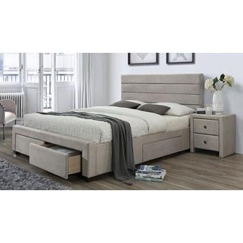 Łóżko Malito 160x200 - beżowe