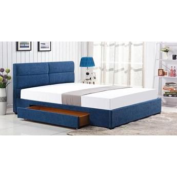 Łóżko Laos 160x200 - niebieskie