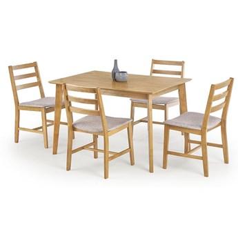 Zestaw stołowy Rawel - jasny dąb