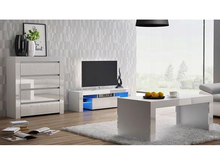 Zestaw mebli lakierowanych Santi - biały połysk Kategoria Zestawy mebli do sypialni