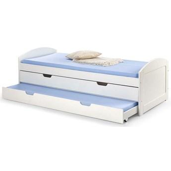 Łóżko dwuosobowe Alvin 90x200 - białe