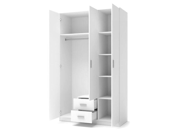 Szafa Lines S3 - biała Rodzaj drzwi Uchylne