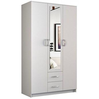 Szafa z lustrem Amira 3X - biała