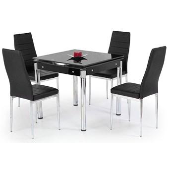 Kwadratowy stół Cuber - czarny