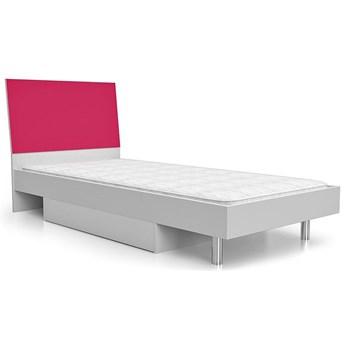 Łóżko dla dziewczynki Kormi 90x200 - różowe