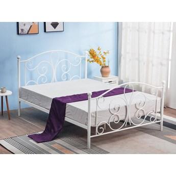 Łóżko do sypialni 120x200 cm Lafio - białe