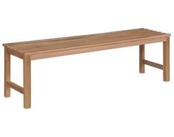 minimalistyczna ławka ogrodowa drewniana berta