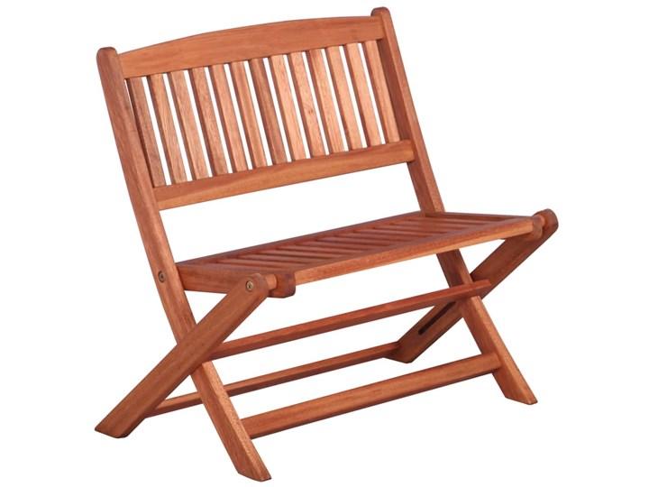 Ławka ogrodowa dla dzieci Blanka Kolor Brązowy Drewno Kategoria Ławki ogrodowe