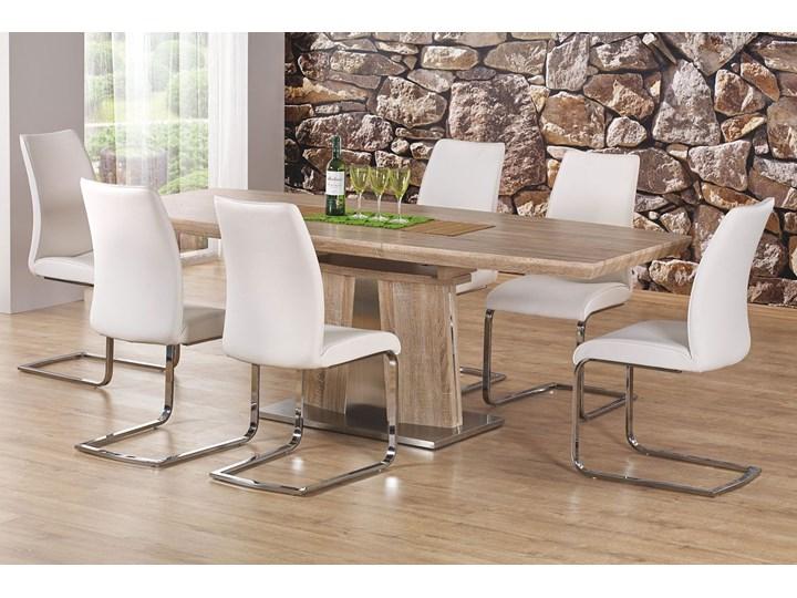 Stół rozkładany Rafalles Szerokość 90 cm Wysokość 76 cm Długość 160 cm  Drewno Rozkładanie Rozkładane