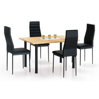 Stół lakierowany Silius - dąb złoty