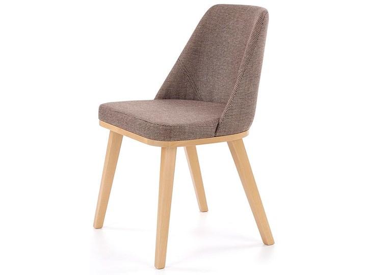krzesło drewniane master brązowe Krzesła kuchenne Homebook