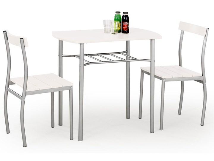 Stół z krzesłami Twiner - biały Liczba krzeseł 2 krzesła Pomieszczenie Jadalnia
