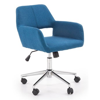 Fotel obrotowy Sofaro - niebieski