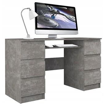 Industrialne biurko Liner 2X - beton