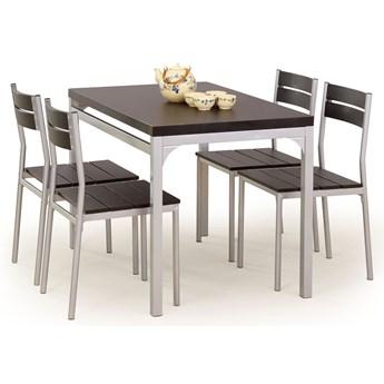 Stół z krzesłami Torino - wenge