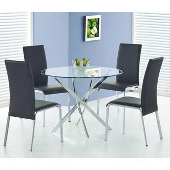 Okrągły stół szklany Rexel