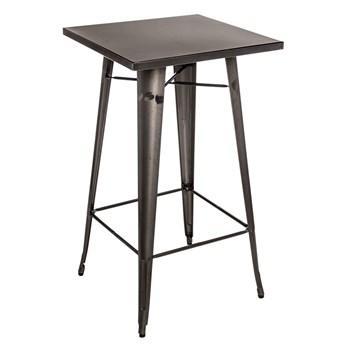 Wysoki stół metaliczny loftowy - Awanger