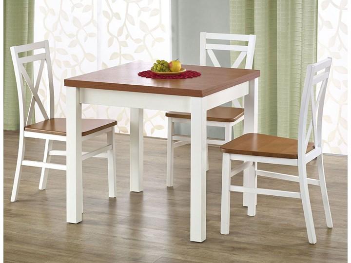 Rozkładany stół kuchenny Cubires - olcha Wysokość 76 cm Długość 80 cm  Drewno Szerokość 80 cm Kategoria Stoły kuchenne