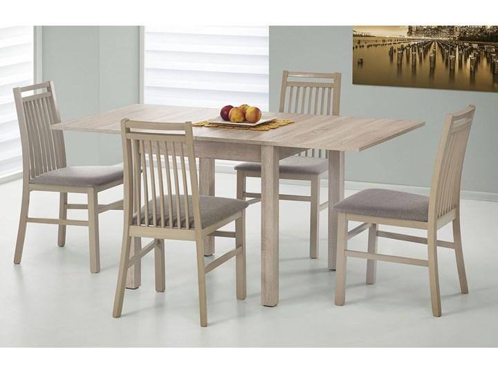 Stół rozkładany Cubires - dąb sonoma Wysokość 76 cm Długość 80 cm  Szerokość 80 cm Drewno Rozkładanie