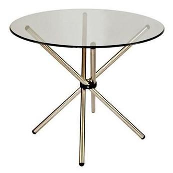 Stół okrągły Cosmo - srebrny