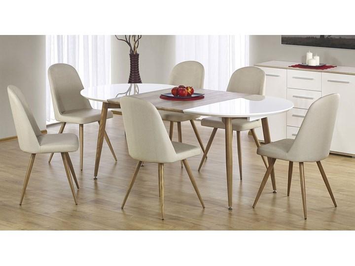 Rozkładany stół do kuchni i jadalni Ebis Drewno Szerokość 100 cm Kategoria Stoły kuchenne Wysokość 75 cm Długość 120 cm  Kolor Biały