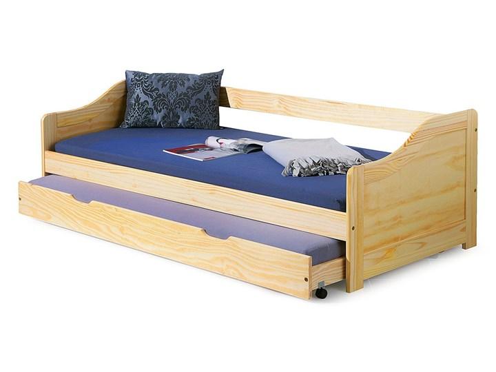 Łóżko podwójne rozsuwane Legis Drewno Tradycyjne Kategoria Łóżka dla dzieci Kolor Beżowy