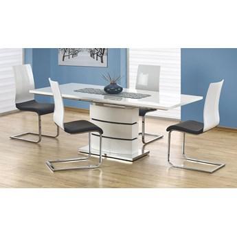 Rozkładany stół Wobis - biały