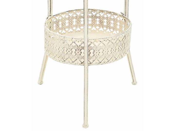 Romantyczny stolik vintage Marin - biały Wysokość 77 cm Kategoria Stoliki i ławy