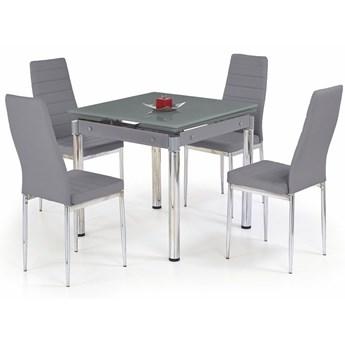 Rozkładany stół kuchenny Cuber - popielaty