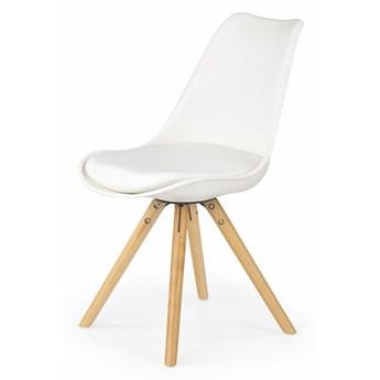 Krzesło skandynawskie Depare - białe
