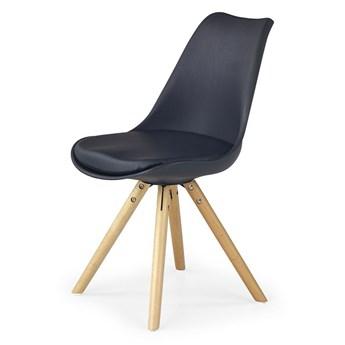 Krzesło skandynawskie Depare - czarne