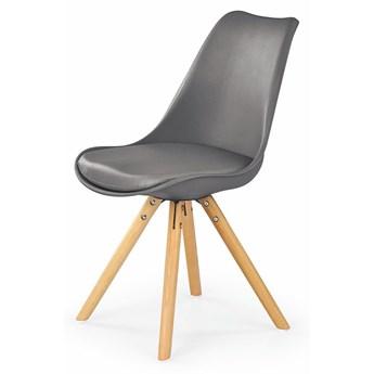 Krzesło skandynawskie Depare - popiel