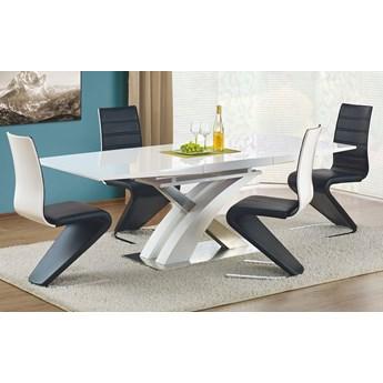 Stół rozkładany Zander - biały połysk