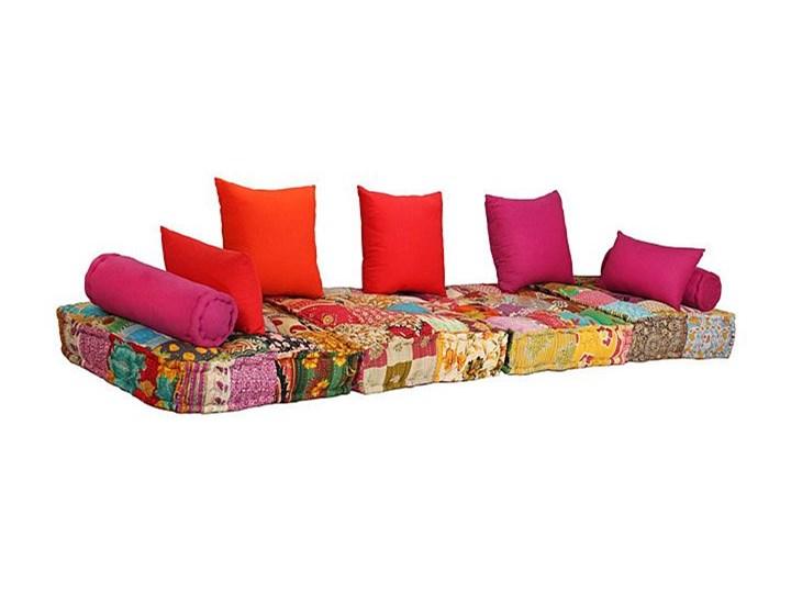 Modułowa sofa patchwork Demri 2D Typ Gładkie Modułowe Szerokość 70 cm Styl Vintage
