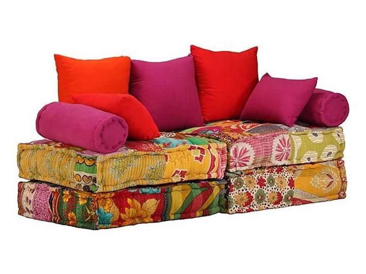 Modułowa sofa patchwork Demri 2D Modułowe Typ Gładkie Szerokość 70 cm Styl Vintage
