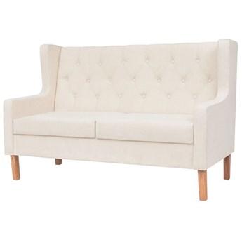 Dwuosobowa sofa Isobel 2C - kremowobiała