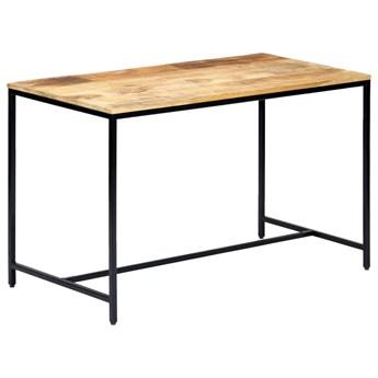 Industrialny stół z drewna mango Avis – jasnobrązowy