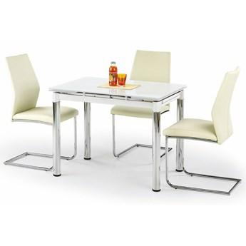 Rozkładany stół kuchenny Promex - biały