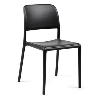 Minimalistyczne krzesło Vono - czarne